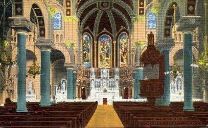 Church - Tampa, Florida FL Postcard
