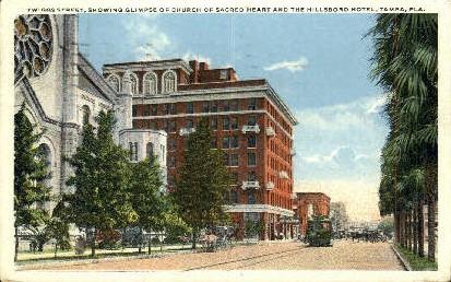 Twiggs Street - Tampa, Florida FL Postcard
