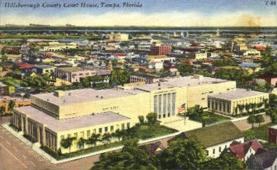 Hillsboro Hotel - Tampa, Florida FL Postcard