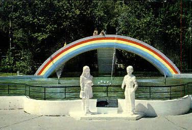 Rainbow Pool - Tampa, Florida FL Postcard