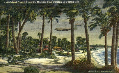 Island Target Range - Tampa, Florida FL Postcard