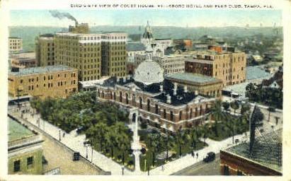 Hillsboro Hotel and Elks Club - Tampa, Florida FL Postcard