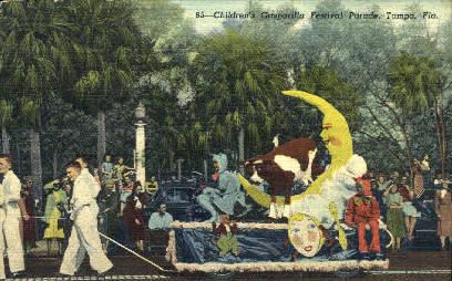 Gasparilla - Tampa, Florida FL Postcard