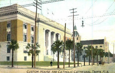 Custom House - Tampa, Florida FL Postcard