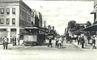 Reproduction - Franklin Street - Tampa, Florida FL Postcard
