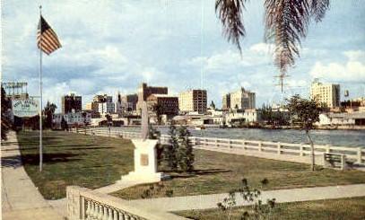 Tony Jannus Park - Tampa, Florida FL Postcard