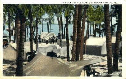 Tin Can Tourist Camp - Tampa, Florida FL Postcard