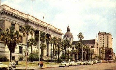 Federal Building - Tampa, Florida FL Postcard