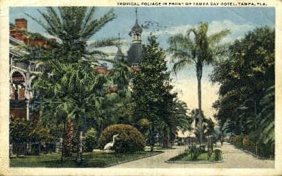 Tampa Bay Hotel - Florida FL Postcard