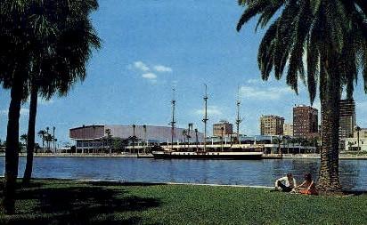 Curtis Hixon Convention Hall - Tampa, Florida FL Postcard
