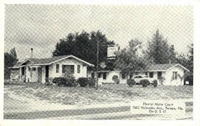 Floritel Motor Court - Tampa, Florida FL Postcard