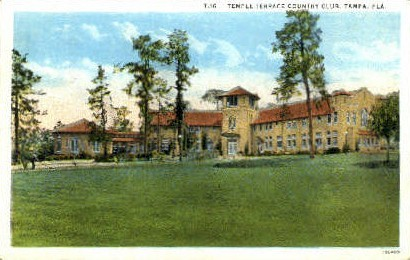 Temple Terrace Country Club - Tampa, Florida FL Postcard
