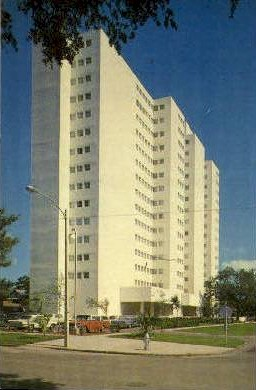 Presbyterian Towers - Tampa, Florida FL Postcard