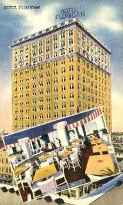 Hotel Floridan - Tampa Postcard