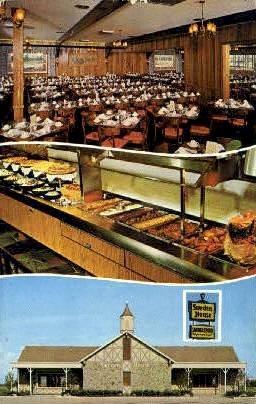 Sweden House Smorgasbord - Tampa, Florida FL Postcard