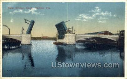 New Bridge Open - Tampa, Florida FL Postcard