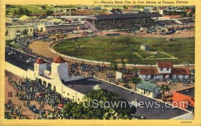 State Fair - Tampa, Florida FL Postcard