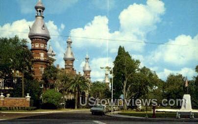 Historic University of Tampa - Florida FL Postcard