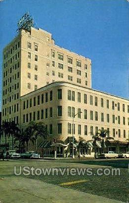 Hotel Thomas Jefferson - Tampa, Florida FL Postcard