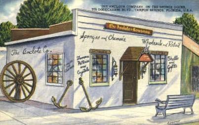 Anclote Company - Tarpon Springs, Florida FL Postcard