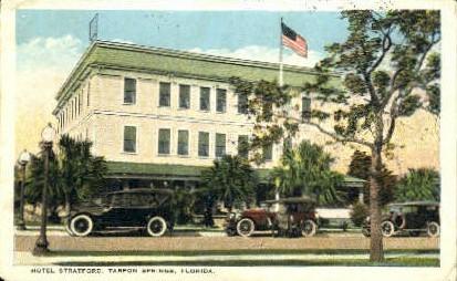 Hotel Stratford - Tarpon Springs, Florida FL Postcard