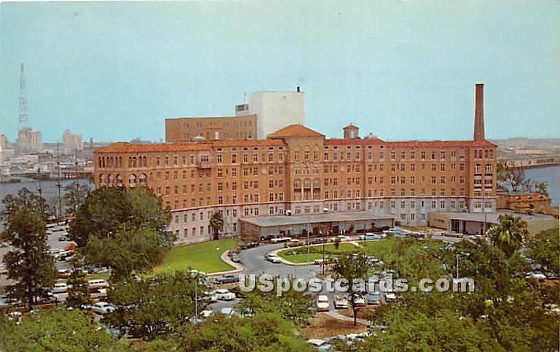 Tampa General Hospital - Florida FL Postcard