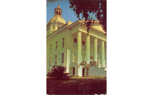 Entrance to the Capitol Building Tallahassee, Florida Postcard
