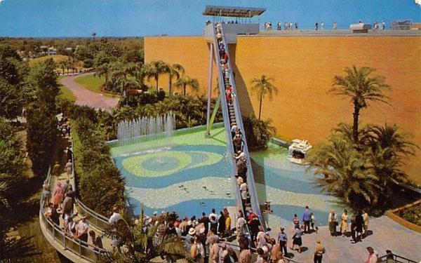 The Escalator at Busch Gardens Tampa, Florida Postcard