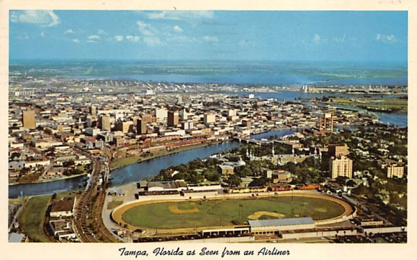 Tampa, Florida as Seen from an Airliner Postcard