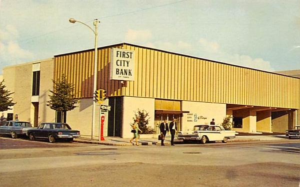 First City Bank of Tampa Florida Postcard