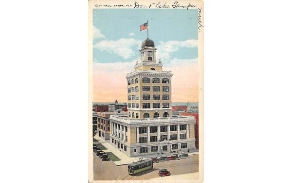 City Hall Tampa, Florida Postcard