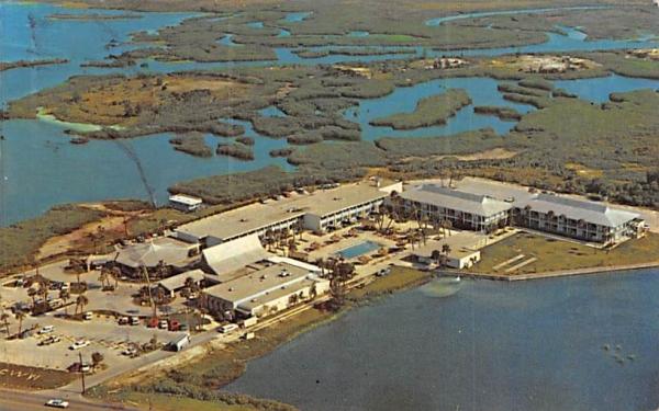 Bartke's Causeway Inn Beach Resort Tampa, Florida Postcard
