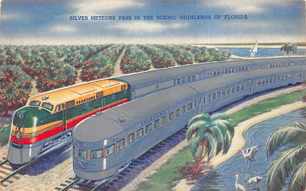 Silver Meteors Pass, Scenic Highlands of Florida, USA Postcard
