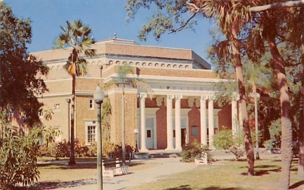 City Auditorium Tampa, Florida Postcard
