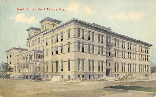 Desoto Hotel, No. 2 Tampa, Florida Postcard