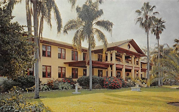 The Old Peoples Home Tampa, Florida Postcard
