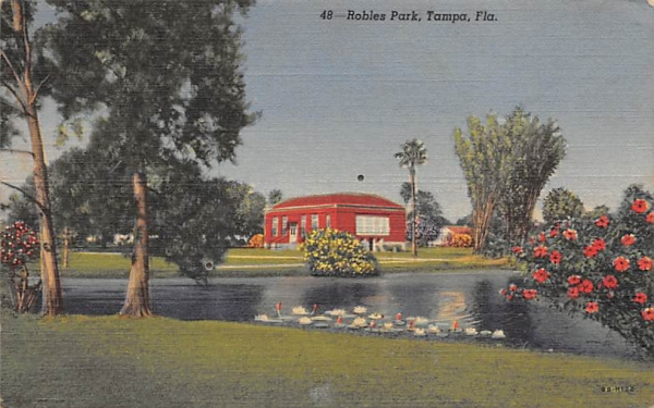 Robles Park Tampa, Florida Postcard