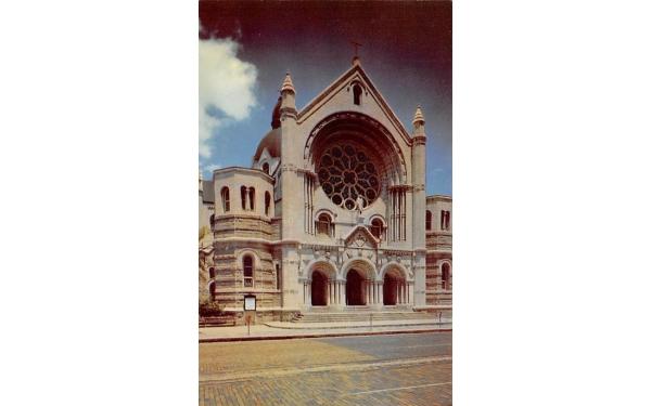 Sacred Heart Catholic Church Tampa, Florida Postcard
