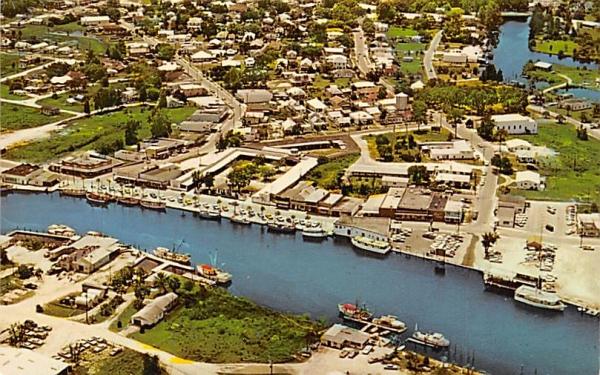 Aerial View of Tarpon Springs, FL, USA Florida Postcard