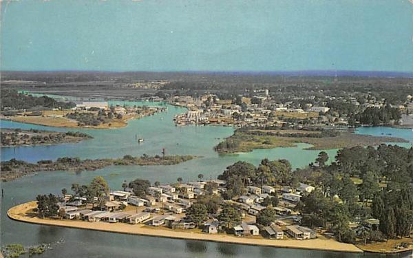 Chesapeake Point Mobile Court Tarpon Springs, Florida Postcard