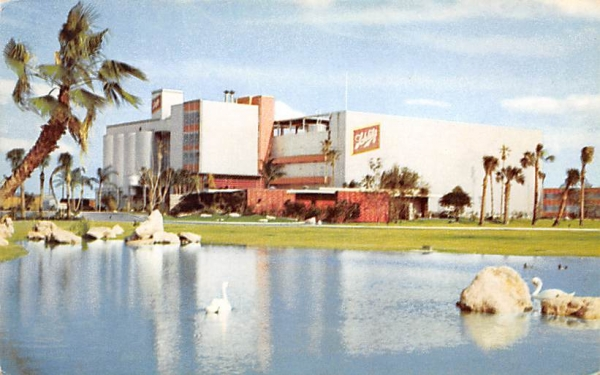 brewing skill are expressed in Schlitz' Tampa plant Florida Postcard