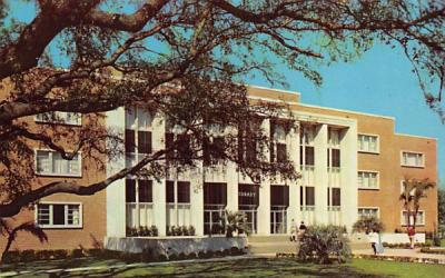 The Library, Florida State University Postcard