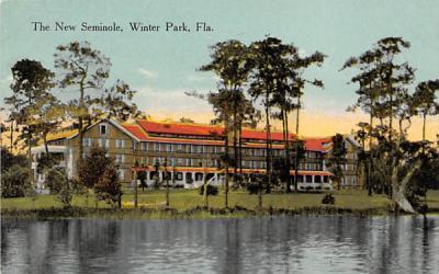 The New Seminole Winter Park, Florida Postcard