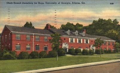 University of GA - Athens, Georgia GA Postcard