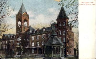 The Agnes Scott Institute - Atlanta, Georgia GA Postcard
