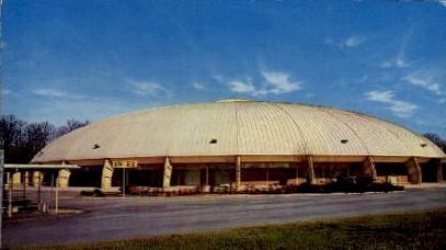 Alexander Mem Coliseum, GA Tech - Atlanta, Georgia GA Postcard
