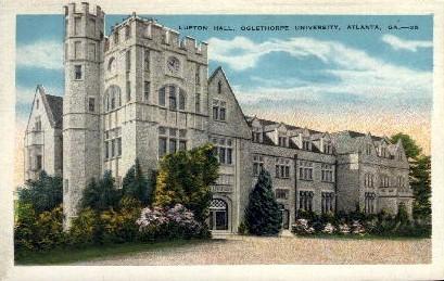 Lupton Hall, Oglethorpe University - Atlanta, Georgia GA Postcard