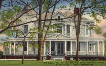 The O.E.S. Home of Georgia, INC. - Atlanta Postcard