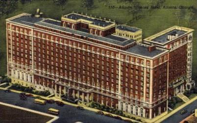 Atlanta Biltmore Hotel - Georgia GA Postcard