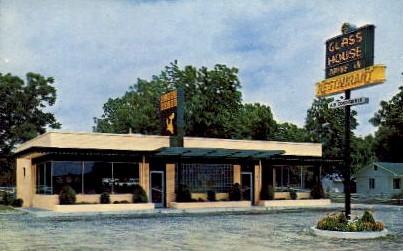 Glass House Restaurants - Atlanta, Georgia GA Postcard
